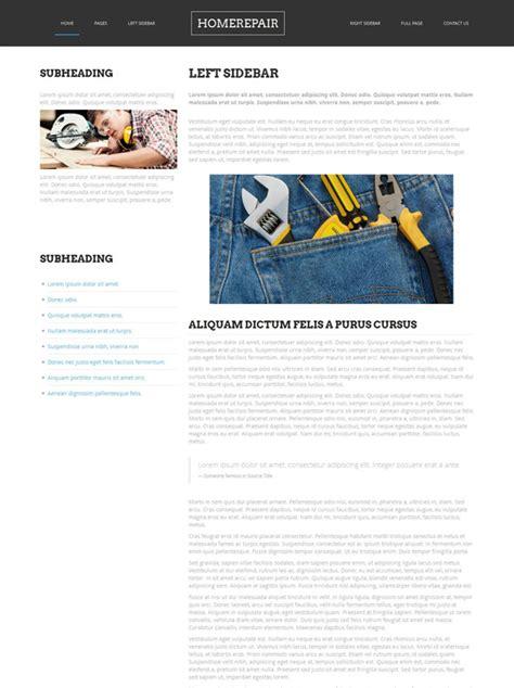 home renovation website template home renovation