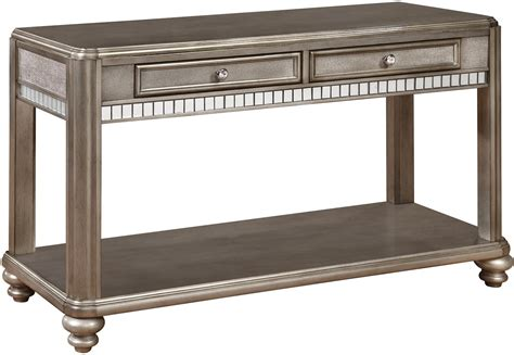 coaster sofa table coaster 70461 sofa table with 2 drawers sol