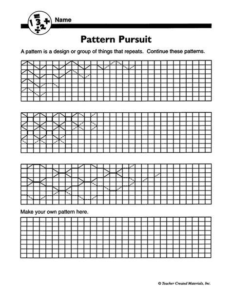 pattern math pdf patterning math worksheets patterns gallery