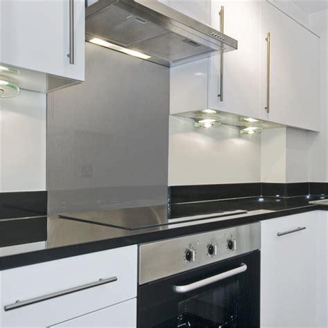 Bunnings Splashbacks For Kitchens by Stein 900mm Silver Glass Splashback Bunnings Warehouse