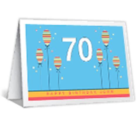 Printable 70th Birthday Cards Milestone Birthday Cards Print Free At Blue Mountain