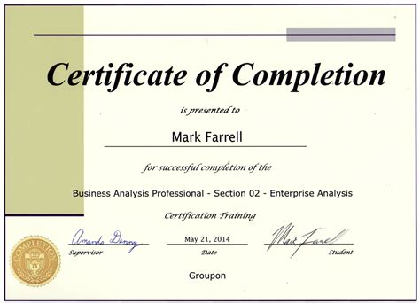 Http Mba Uncc Edu About Certificates Business Analytics by Certifications P Farrell S E Resume