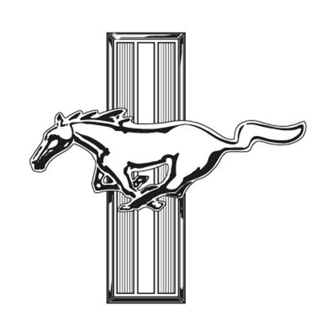 mustang ford vector logo mustang ford logo vector