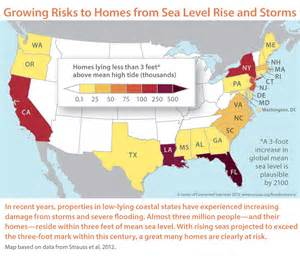 map of us after sea level rise progressive charlestown overwhelming risk
