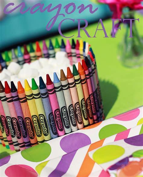 birthday craft projects crayon crafts ideas car interior design