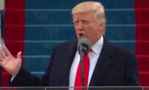donald trump dilantik inagurasi presiden as trump berterima kasih pada obama