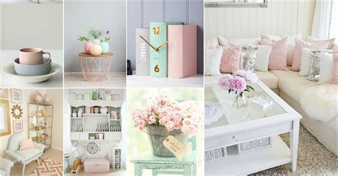 pink home decor pastel pink colored decor ideas for a peaceful mind