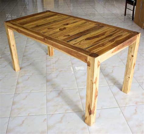 Furniture Kitchen Table Kitchen Dining Table Teak Wood Inlay Carved Furniture Oak