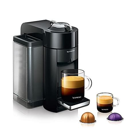 bed bath and beyond nespresso nespresso 174 by de longhi evoluo coffee and espresso maker