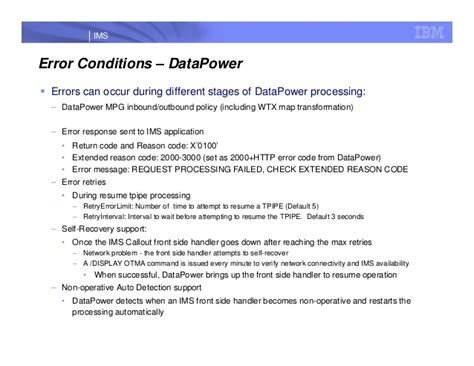 Datapower Resume by Datapower And Ims Ims Ug July 2013