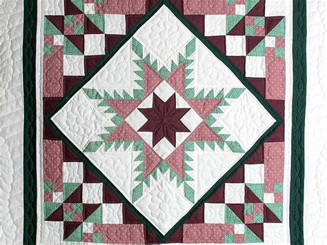 feathered ladder quilt outstanding