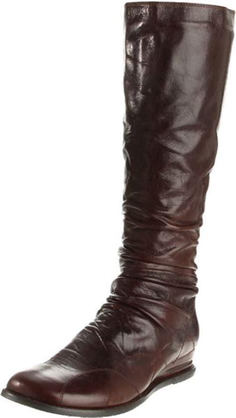 miz mooz womens bonnie knee high boot in brown lyst
