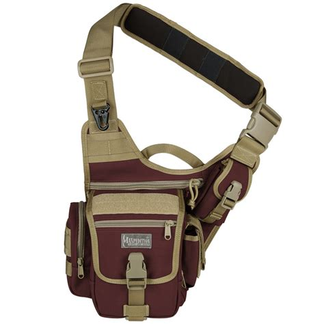 Maxpedition Fatboy Versipack by Maxpedition Fatboy Versipack Maroon Khaki Shoulder Bags