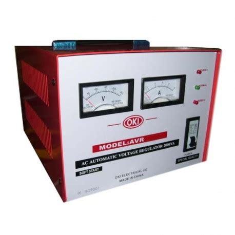 Stabilizer Oki Handal 3000 Watt Oki Stabilizer harga stabilizer 2000 watt murah kalibrasi meter