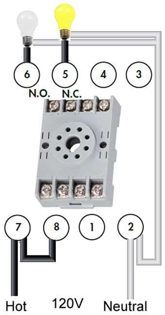 8 pole relay wiring diagram wiring diagram