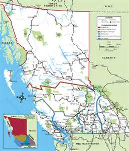 road map of bc road trip part 3 canada 2009