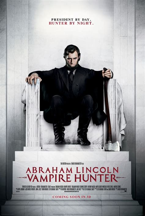 biography of abraham lincoln movie abraham lincoln vire hunter movie poster 03 pattaya