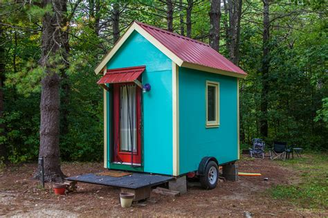 tiny house this tiny house on wheels was located on a