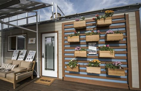 Small Home Design Contest Solar Powered Tiny Houses Take The Spotlight In California