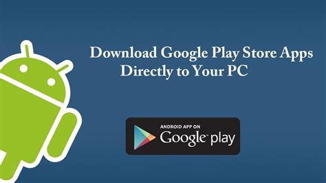 play app for android free how to application from play store to pc