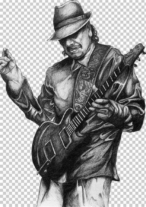 Carlos Santana Drawing Musician PNG, Clipart, Actor, Art