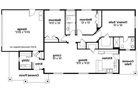 design for rectangular plot 3 bedroom rectangular house plans 28 images best
