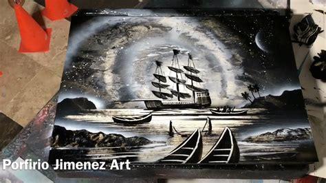 spray paint pirate ship pirate ship spray paint tutorial for beginner by