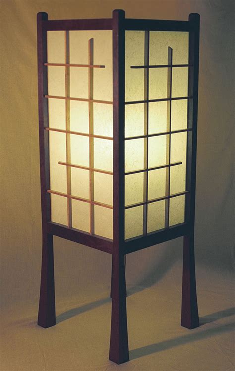 japanese style floor l finewoodworking lights and ls
