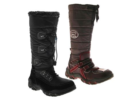 womens snow boots waterproof zip fur lined