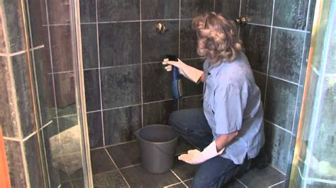 how to clean shower stall tile doovi