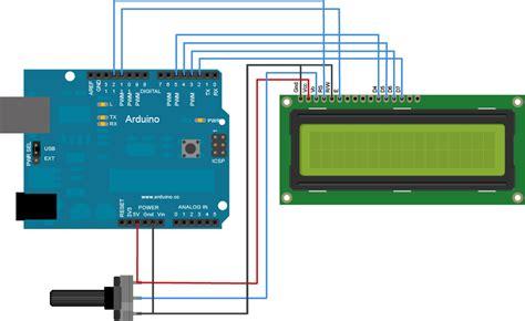 tutorial arduino display lcd arduino liquidcrystalautoscroll
