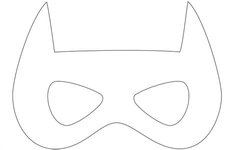 batgirl mask template cosmo last minute costume ideas for and adults