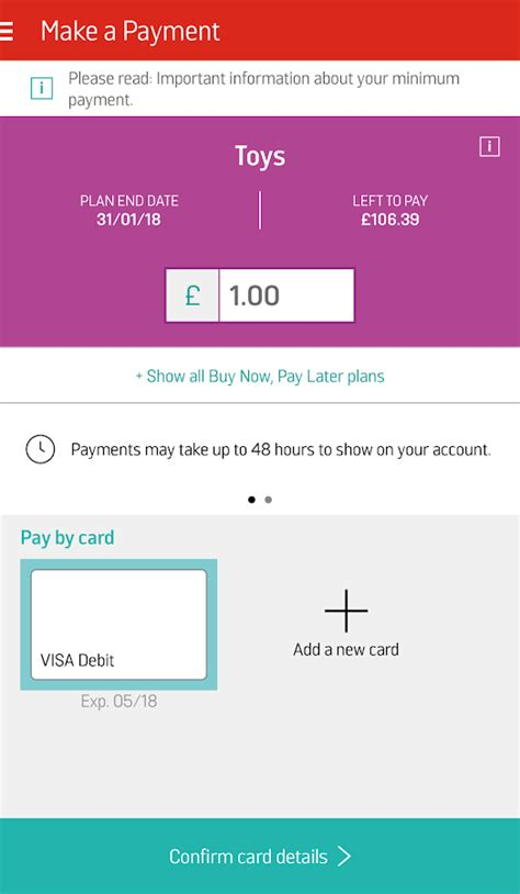 argos card make a payment my argos card android apps on play