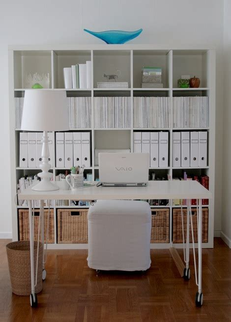 Ikea Expedit Design Ideas Expedit Desk White
