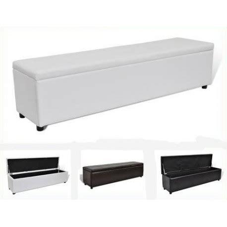 but banc coffre banc banquette coffre de rangement 179 cm 3 coloris pas cher meubles discount en ligne coffre