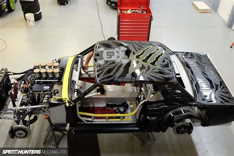 hoonigan mustang engine from concept to reality the hoonicorn rtr build story
