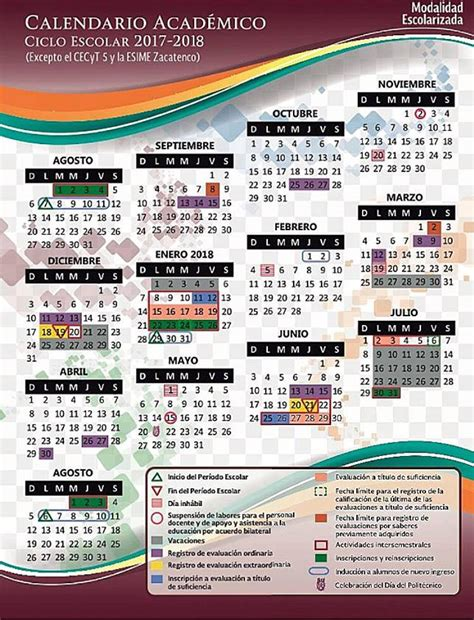 calendario escolar del ipn 2016 calendario ipn 2017 18 171 blog de maryel mendiola