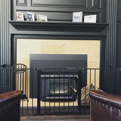baby proof a fireplace with a safety gate baby safe homes
