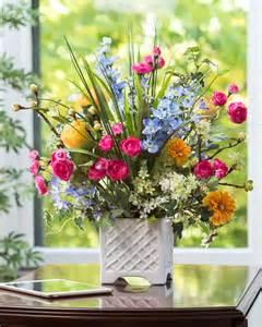 Happy Ranunculus Silk Flower Centerpiece At Larkspur Ranunculus Silk Flower Arrangement Only