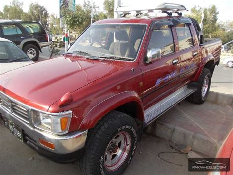 1994 Toyota For Sale Used Toyota Hilux 1994 Car For Sale In Karachi 806292
