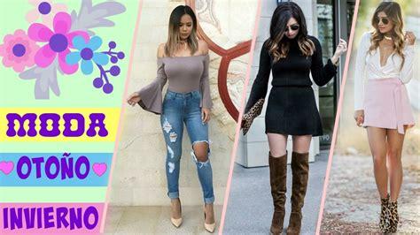 tendencia moda invierno 2017 mujer moda oto 209 o invierno 2016 2017 para mujer tendencias 2016