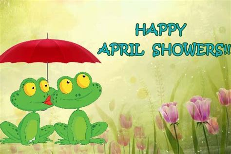 Showers Of Blessings!! Free April Showers Day eCards