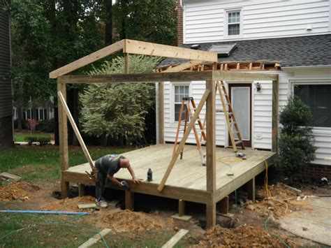 Mobile Home Designs Floor Plans framing for new pressure treated screen porch in henrico