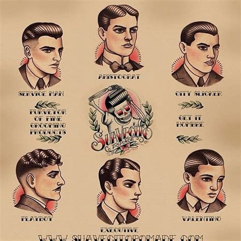 mens haircuts guide gentle men s haircutting guide poster hair do quot s 1920s