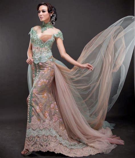 foto busana kebaya batik indonesia com foto model baju kebaya pengantin modern 2015 kebaya