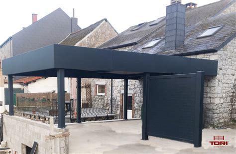 aluminium carport carport aluminium horizon portails