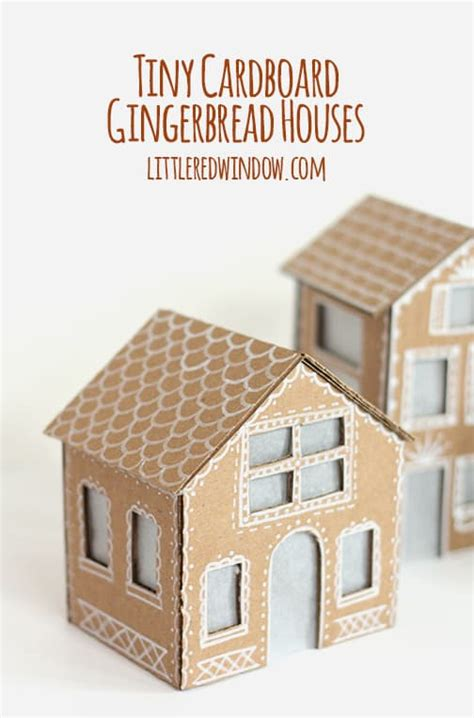 lighted gingerbread house sale tiny cardboard gingerbread houses little red window