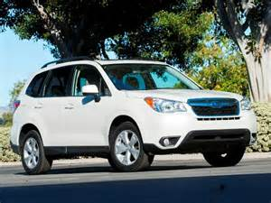 Vehicles Similar To Subaru Forester 12 Best Family Cars 2014 Subaru Forester Kelley Blue Book