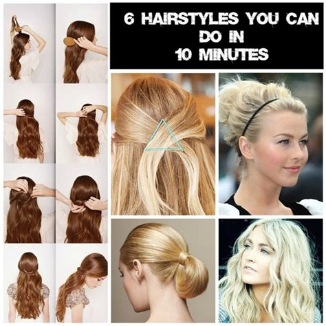 Easy Hairstyles For School In 10 Minutes by 6 Easy Hairstyles For Mums On The Go