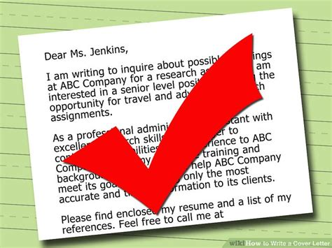 how to write a cover letter step by step 5 ways to write a cover letter wikihow
